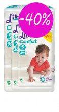 Πάνες Libero Comfort Νο5 10-16 κg (3χ80τμχ) -40%