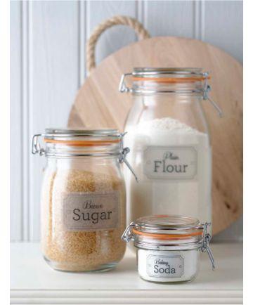 Le Parfait Super Preserve Jars - ready set bake!!