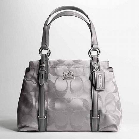 outlet for coach purses aw4y  grey+coach+purses  silver grey coach purse