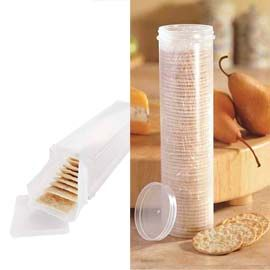 Cause i don't like my sleeve to get stale... Cracker Keeper. Keep your crackers from getting crushed and stale!
