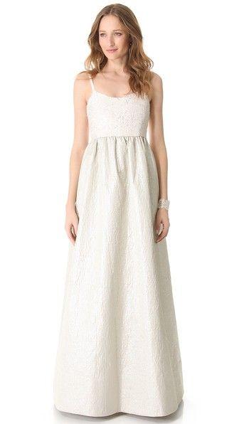 Sequin Bell Gown