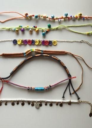 Kaufe meinen Artikel bei #Kleiderkreisel http://www.kleiderkreisel.de/accessoires/armbander-and-armreife/120185506-fussbander-und-armbander