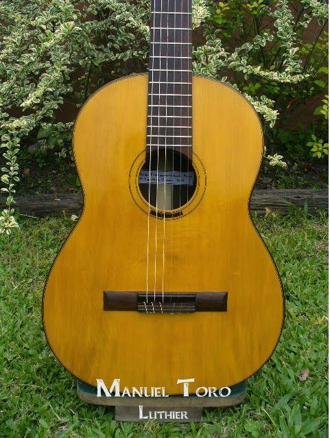 Manuel Toro Luthier: Guitarra 2012