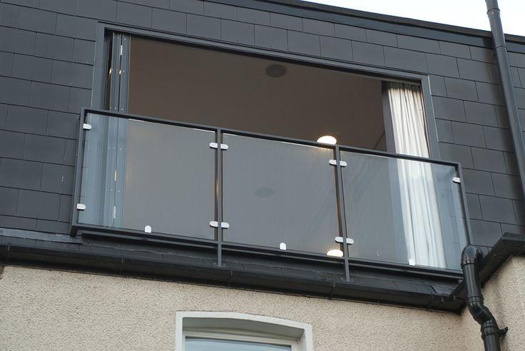 glass balustrade loft conversion south london