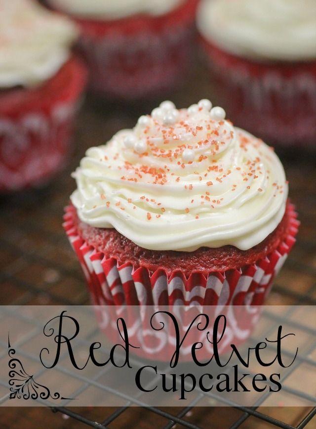 The Freckled Fox : Ems Easy Red Velvet Cupcakes