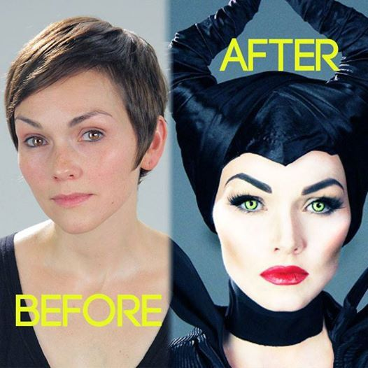 Pin for Later: See 1 Makeup Pro Transform Into Kylie Jenner, Elsa, and More! Maleficent