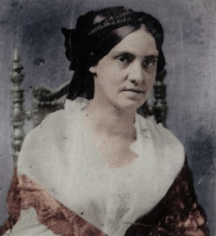 Phoebe Pember, a Civil War nurse who worked at the giant Chimborazo Hospital (the largest military hospital in the world at the time) on the outskirts of Richmond, Virginia.