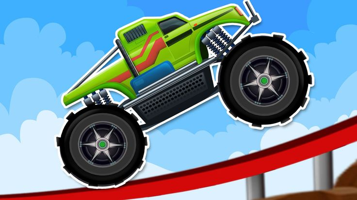Monster Truck Ride | Compilation For Kids #rhymes #monstertruck #monstertruck #truckvideosforkids #kidsvideos #children