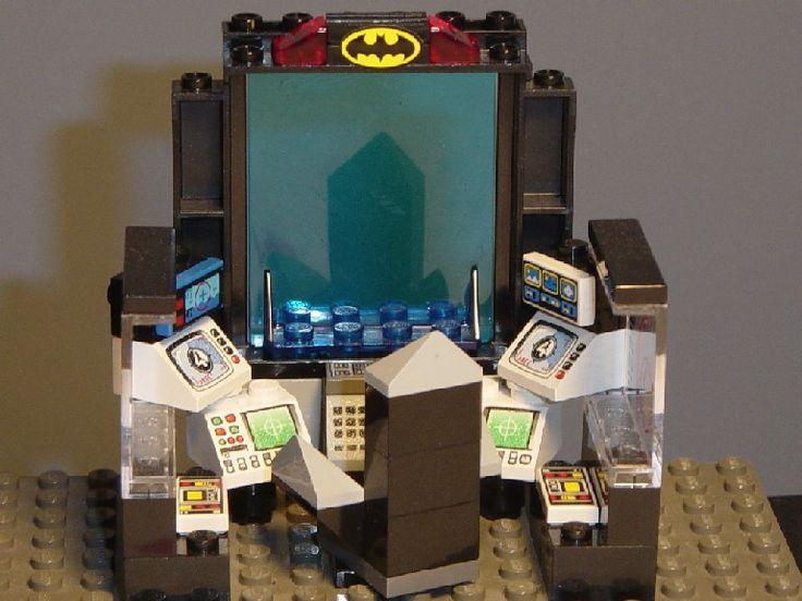 lego custom batcave instructions