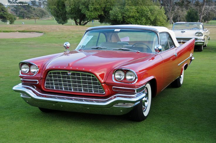 This 1958 Chrysler 300D is an original car that has been given a recent and complete body-off restoration to original specifications with all mechanical components rebuilt. Description from conceptcarz.com. I searched for this on bing.com/images