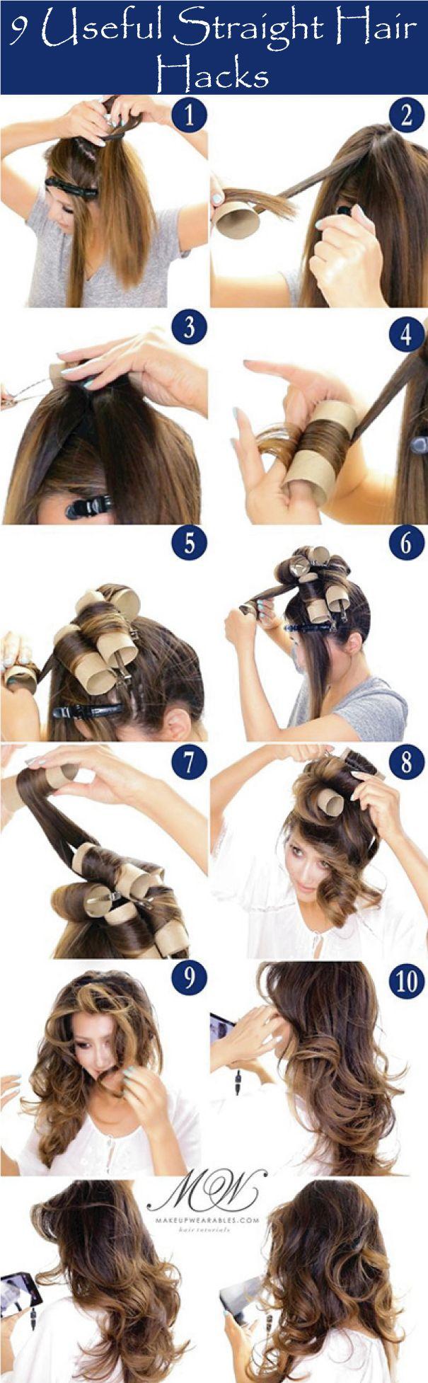 9 Useful Straight Hair Hacks For Hairs