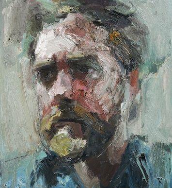 Colin Davidson. Study of musician Glen Hansard