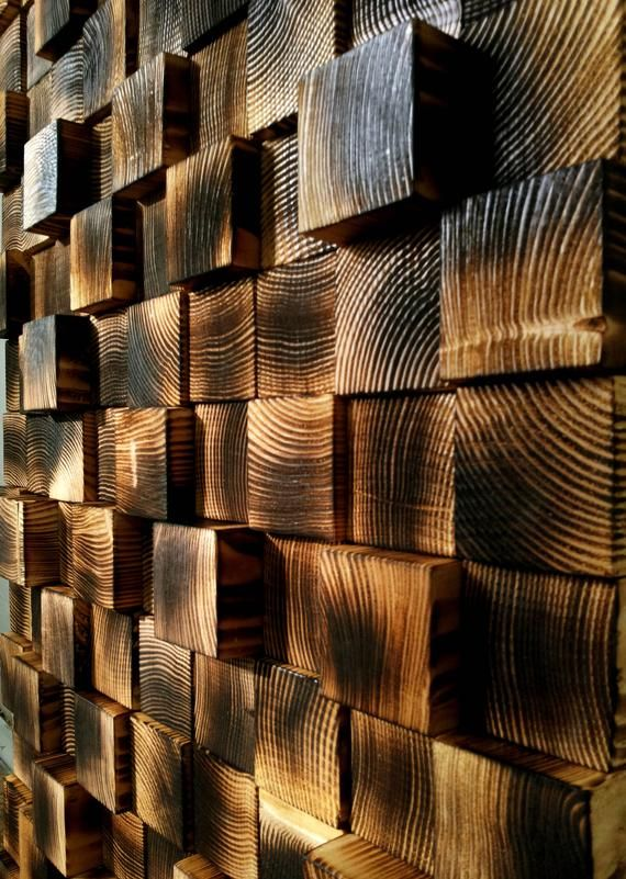 Reclaimed Wood Wall Art, Wooden Wall Sculpture, Wooden Wall Decor, Wall Mosaic, Modern Wood Art, Wall Hanging Wood Mosaic, Gift Idea