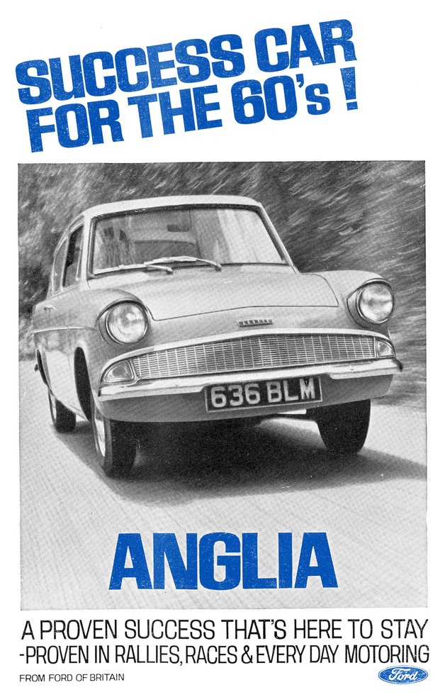 Ads for British Cars 1960s - Retronaut. I remember Anne's little pale blue Anglia from the early sixties.