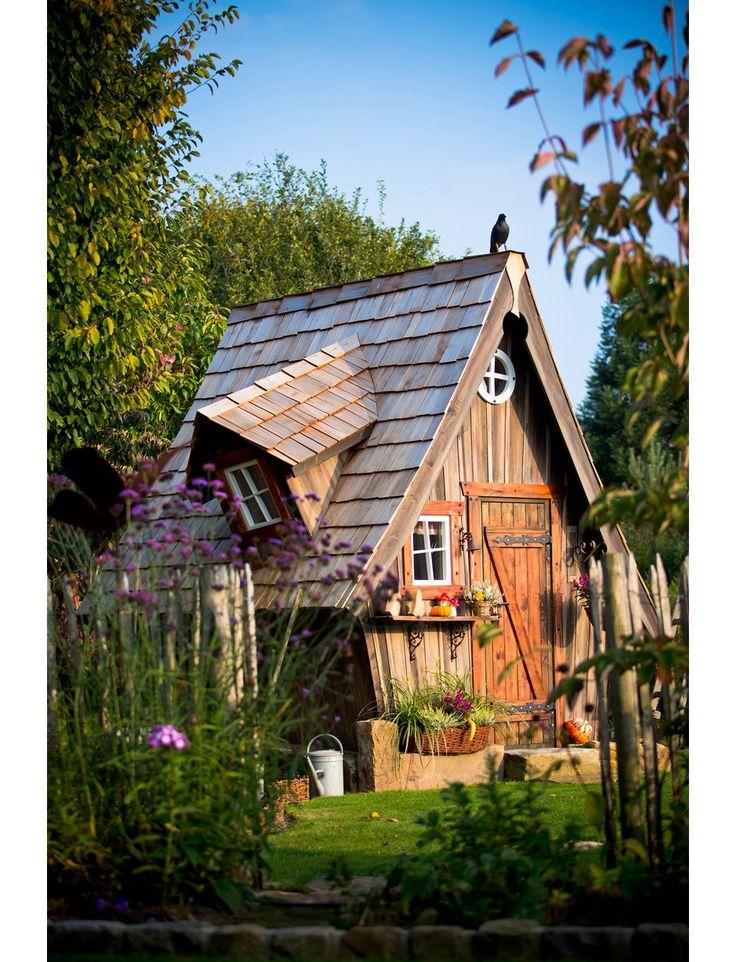 Weka HolzGartenhaus San Remo A GrauWeiß BxT 541 x 238