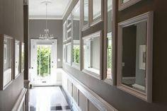 brightening up a dark hallway with mirrors - Google Search