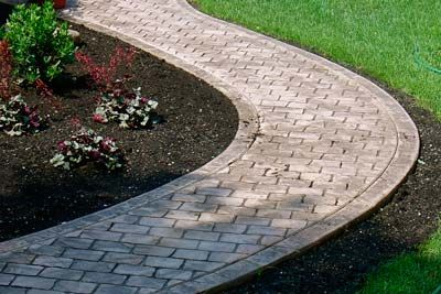 Shelby Township, MI Stamped Concrete Walkways