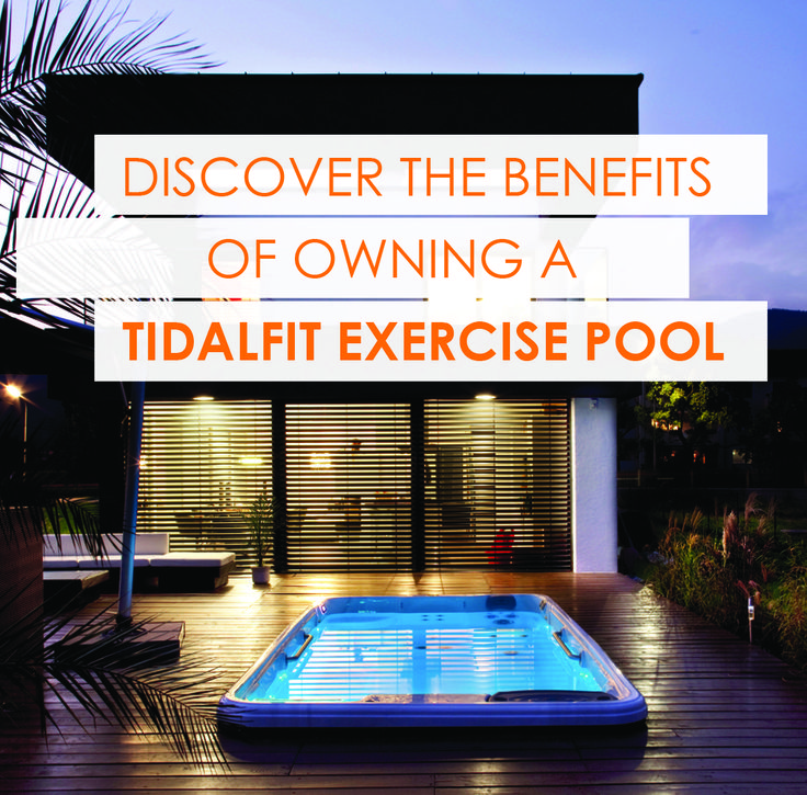 Stay healthy by exercising in your TidalFit and relax with hydrotherapy.  Learn more at www.tidalfit.com.  #tidalfit #artesianspas #fitness #healthy #relax