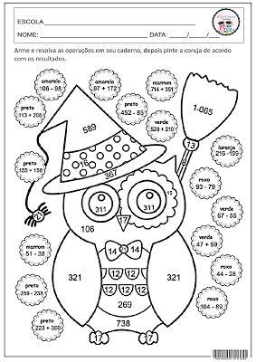Halloween - Matemática Educação                                                                                                                                                                                 Mais