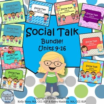 The second half of the Social Talk curriculum is now on sale at the Social Talk store!