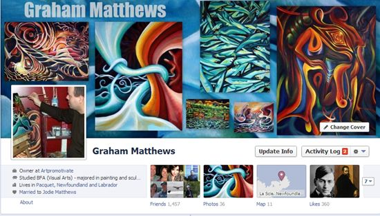 How to create a FaceBook cover collage