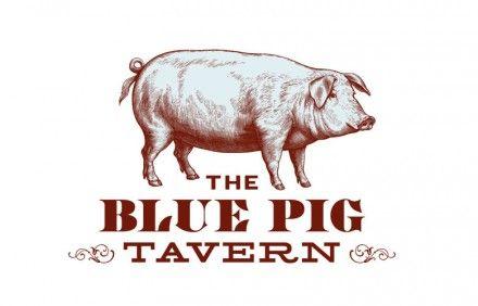 The Blue Pig Tavern Branding
