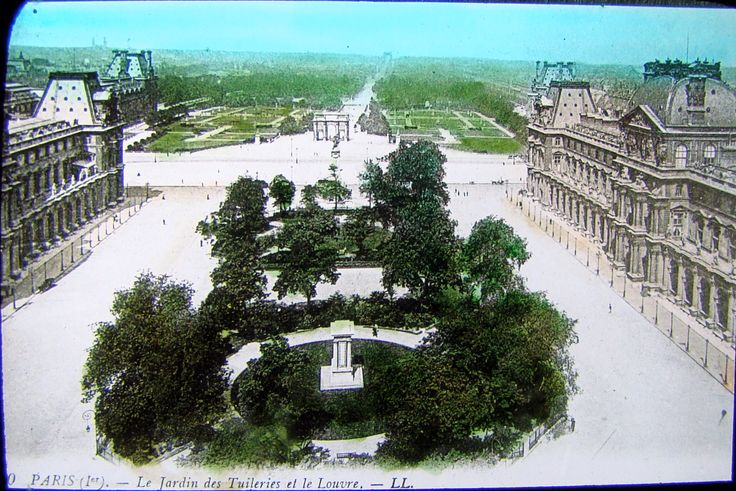 The Tuileries Garden and the Louvre