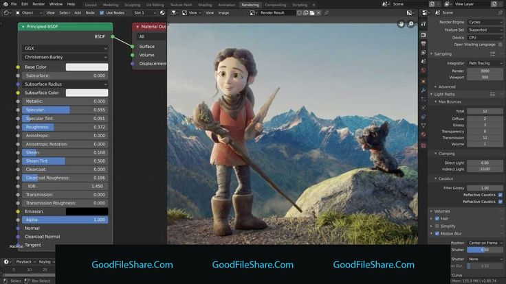 Download blender in 2020 animation project free 3d