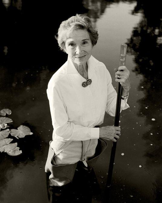 Beth Chatto, British plantswoman, garden designer and author, by Charlie Hopkinson