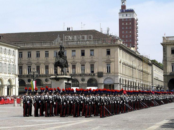Giuramento dei Carabinieri - Torino Piazza San Carlo
