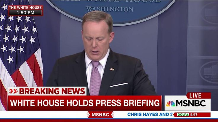 Is Sean Spicer Sending America a Distress Signal?  http://www.elle.com/culture/a43767/sean-spicer-distress-signal-upside-down-flag/