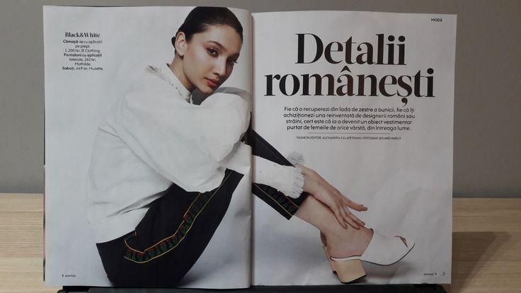 Shooting Mathilde- Avantaje Magazine