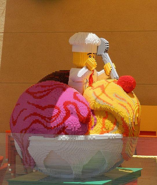 At Legoland Hotel in Carlsbad, California.