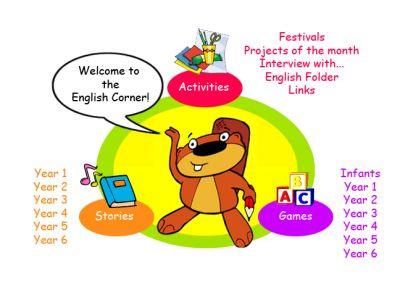 Actividades para Educación Infantil: English Corner