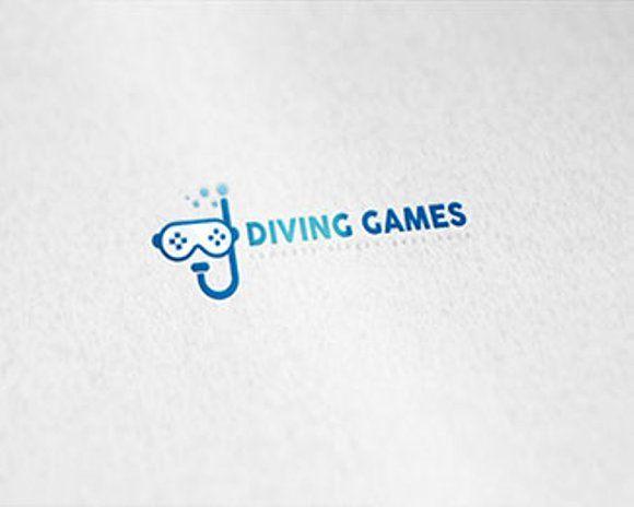 Diving Games Logo @creativework247