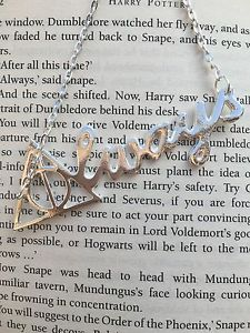 Harry Potter Inspired Snape Lily Always Necklace Ron Hermione Cosplay Uk | eBay