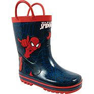 Disney Toddler Boy's Rain Boot Spiderman - Red at Sears.com