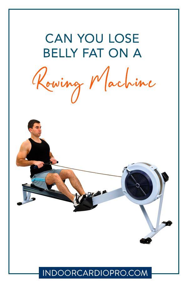 pierde belly fat rowing