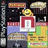 PS1 Playstation Game NAMCO MUSEUM VOLUME 1 Complete