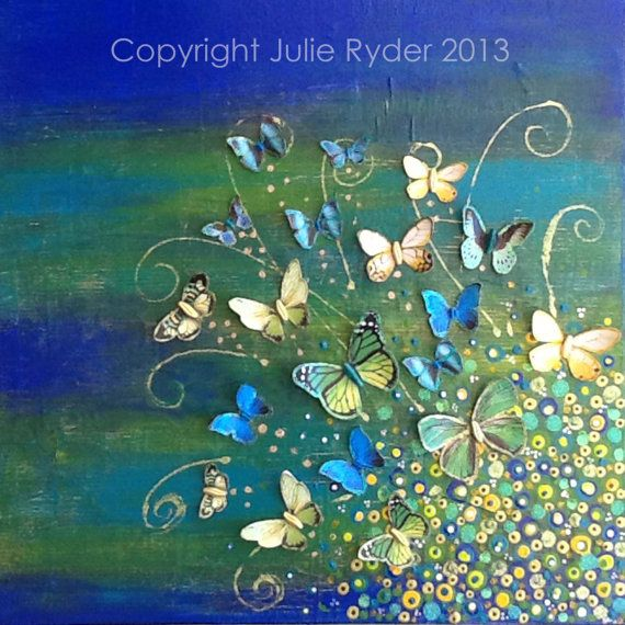 FREE SHIPPING within Australia. Release  by JulieRyderMixedMedia, $185.00