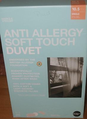 May bank #holiday #deals 2 x m and s  anti #allergy soft touch single duvet ,  View more on the LINK: 	http://www.zeppy.io/product/gb/2/322071814417/
