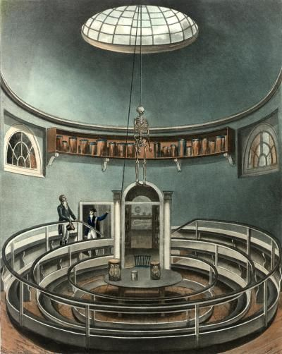 Anatomical Theatre at the University of Cambridge, 1815