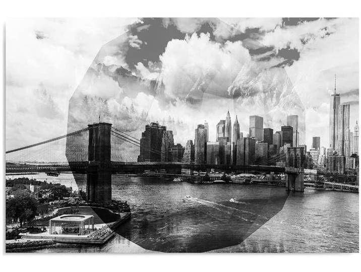 Feeby Leinwandbild Kunstdruck Brucke In New York 3 Bilder