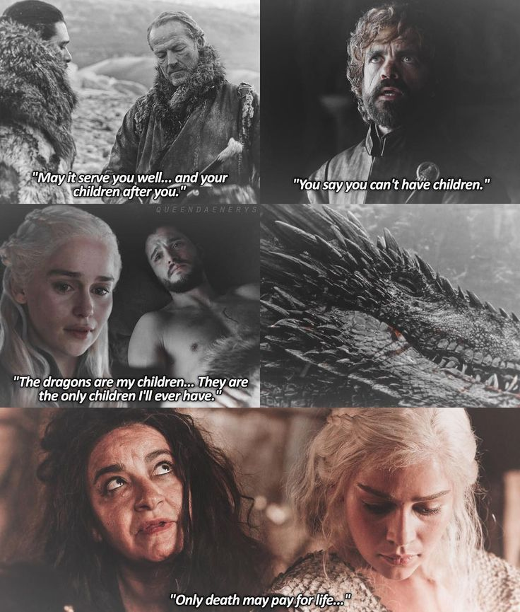 """Game of Thrones ♡ """"Only death may pay for life."""""""