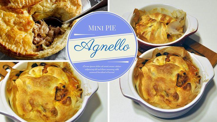 Mini Pie di Agnello #Pasqua #Video #NuovoVideo #Youtue #Ricetta #Agnello #TortaSalata #Pinalapeppina #Recipe #Lamb #Pie