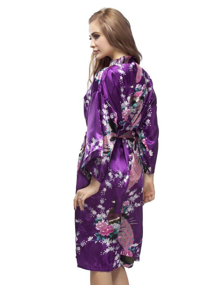 lilac bridesmaid robes - 736×956