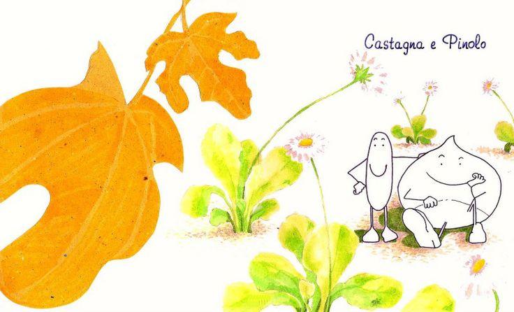 La storia di castagna e pinolo di Elisabetta Randi, fantastica per i bambini piccoli