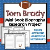 Tom Brady Biography Research Project, Mini Book, Quote Pos