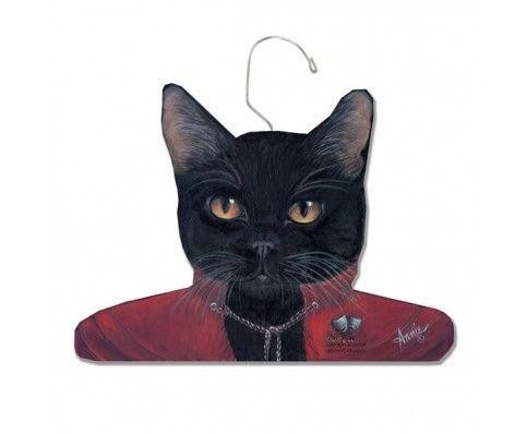 Classy Cat animal hanger - hardtofind.