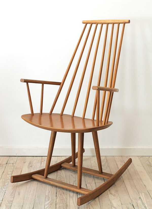 mid century modern Jorgen Baekmark Rocking Chair